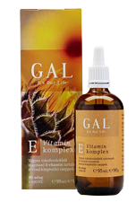 GAL E-vitamin komplex 95ml 100NE